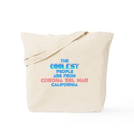 Coolest: Corona Del Mar, CA Tote Bag