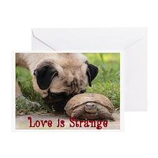 Love is Strange Greeting Card