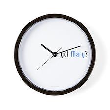 Covenant Gear's got Mary? Wall Clock
