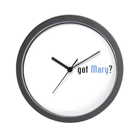 Covenant Gear's got Mary? Wall Clock
