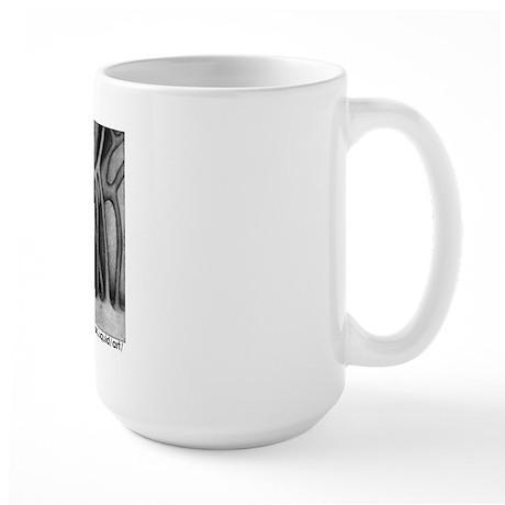 only an illusion:: Large Mug