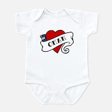 Oman tattoo heart Infant Bodysuit