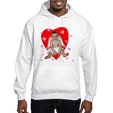 Lots of Hearts Cupid Hoodie