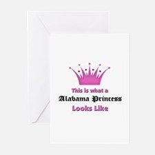 This is what a Alabama Princess Looks Like Greetin