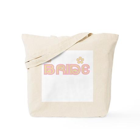 Fun Colors Bride Yellow/Pink Tote Bag