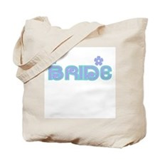 Fun Colors Bride Lilac/Aqua Tote Bag