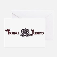 Tribal Fusion Greeting Card