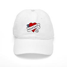 Palmdale tattoo heart Baseball Cap