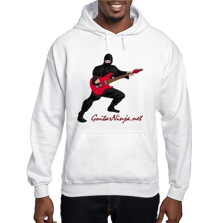 Guitar Ninja Hooded Sweatshirt
