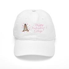 Pink Hearts Cupid Baseball Cap