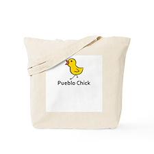 Pueblo Chick Tote Bag