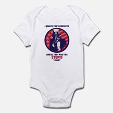 I Qualify Infant Bodysuit