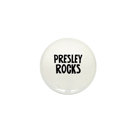 Presley Rocks Mini Button