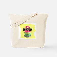 frog vacation Tote Bag