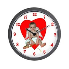 Baby Cupid Wall Clock