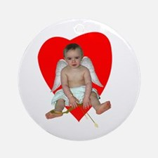 Baby Cupid Ornament (Round)