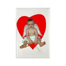 Baby Cupid Rectangle Magnet