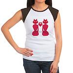 Kitty Love Women's Cap Sleeve T-Shirt