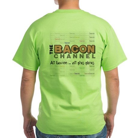 Green Bacon Channel T-Shirt