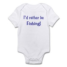 I'd Rater Be Fishing! Infant Creeper