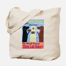Three Lab Bakery Tote Bag
