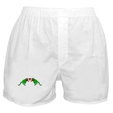 Frogs In Love Boxer Shorts