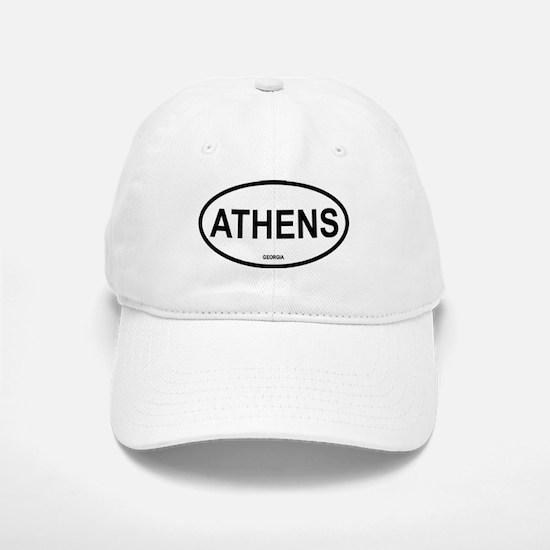 Athens Oval Baseball Baseball Cap