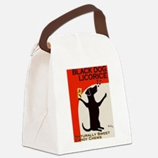 Black Dog Licorice Canvas Lunch Bag