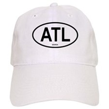 Atlanta Oval Baseball Cap