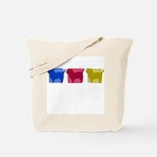 Color Row Affenpinscher Tote Bag