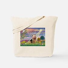Clous Angel Aussie Terrier Tote Bag