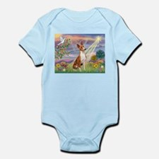 Cloud Angel & Basenji Infant Bodysuit