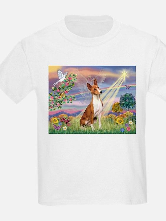 Cloud Angel & Basenji T-Shirt