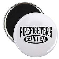 Firefighter's Grandpa Magnet
