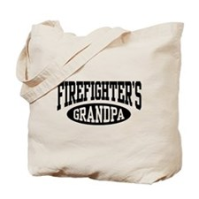 Firefighter's Grandpa Tote Bag
