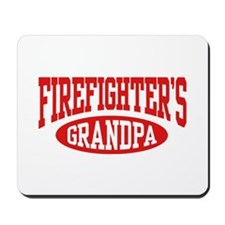 Firefighter's Grandpa Mousepad