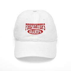 Firefighter's Grandpa Baseball Cap