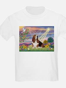 Cloud Angel & Basset T-Shirt