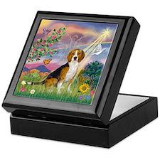 Fantasy Land & Beagle Keepsake Box