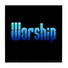 Worship Tile Coaster