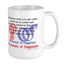 Pursuit of Happiness: Gay Marriage Mug