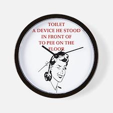 divorce gifts t-shirts Wall Clock