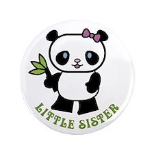 "Little Sister 3.5"" Button"
