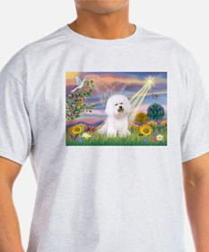 Cloud Angel & Bichon T-Shirt
