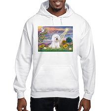 Cloud Angel & Bichon Hoodie