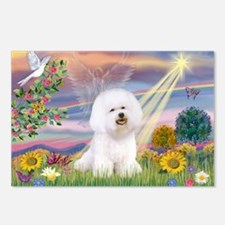 Cloud Angel & Bichon Postcards (Package of 8)