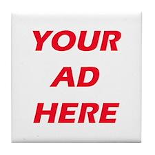Advertising Tile Coaster