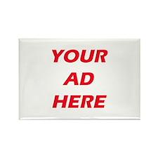 Advertising Rectangle Magnet