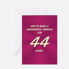 Wonderful Person - Birthday Card - 44