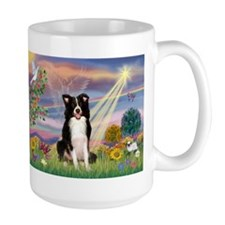 Cloud Angel & Border Collie Mug